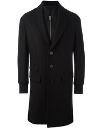 Neil Barrett Layered Single Breasted Coat
