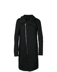 Rick Owens Off Centre Zipped Coat