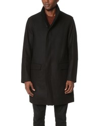 Vince Raw Edge Military Coat