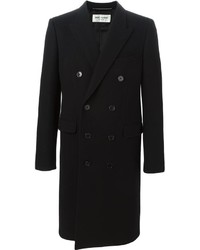 Saint Laurent Double Breasted Overcoat