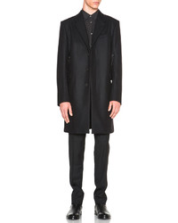 Helmut Lang Shield Melton Overcoat