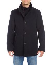 Vince Camuto Short Wool Blend Car Coat