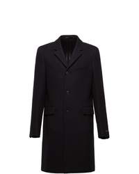 Prada Single Breasted Midi Coat