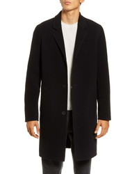 Vince Slim Fit Wool Blend Car Coat