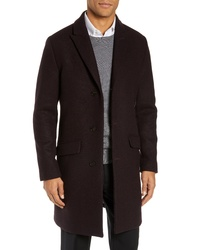 Bonobos Slim Fit Wool Blend Topcoat
