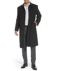 Hart Schaffner Marx Stanley Classic Fit Wool Cashmere Overcoat