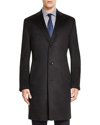 Hugo Boss Stratus Wool Cashmere Regular Fit Topcoat