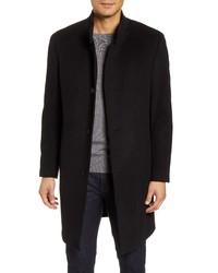 Nordstrom Men's Shop Trim Fit Wool Blend Overcoat