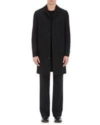 Maison Margiela Twill Trench Coat Black Size 50 Eu