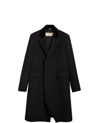 Burberry Velvet Collar Riding Coat