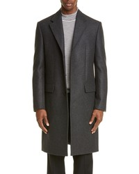 Maison Margiela Wool Blend Double Cloth Topcoat