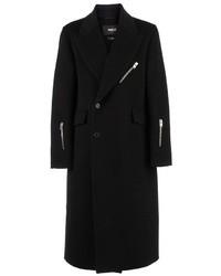Yang Li Zip Detail Overcoat