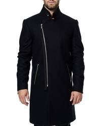 Maceoo Zip Wool Cashmere Coat