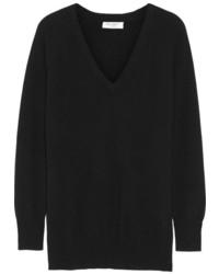 Asher oversized cashmere sweater black medium 189197