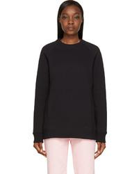 Acne Studios Black Oversized Nikoleta Sweatshirt