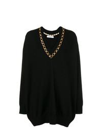 Givenchy Embellished V Neck Sweater