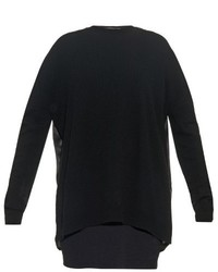 Haider Ackermann Oversized Contrast Back Sweater