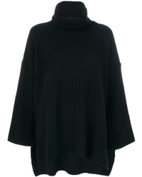 Oversized roll neck jumper medium 4979446