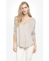 Express Oversized V Neck Tunic Sweater | Where to buy & how to wear