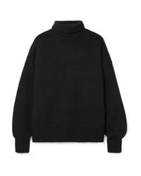 The Row Pheliana Oversized Cashmere Turtleneck Sweater