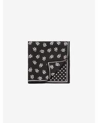 Alexander McQueen Quarter Logo Pocket Scarf