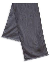 Black Paisley Scarf