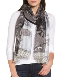 Nordstrom Bohemian Paisley Cashmere Silk Scarf