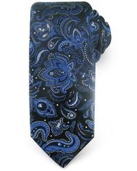 Haggar Big Tall Extra Long Paisley Microfiber Tie