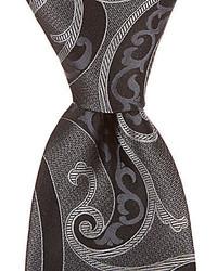 Murano Big Tall Magic Paisley Traditional Silk Tie