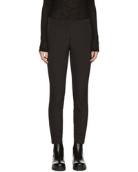 Prada Black Slim Cropped Trousers