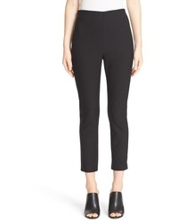 Derek Lam 10 Crosby Crop Stretch Cotton Twill Pants