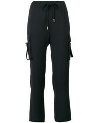 Michael Kors Michl Kors Drawstring Cropped Trousers