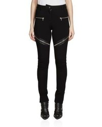 Givenchy Punto Milano Stretch Moto Pants