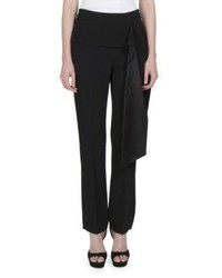 Givenchy Sade Sash Detail Straight Leg Pants