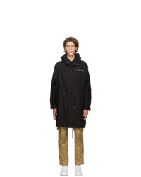 Givenchy Black Atlantis Parka