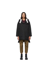 Yves Salomon Army Black Down Doudoune Jacket