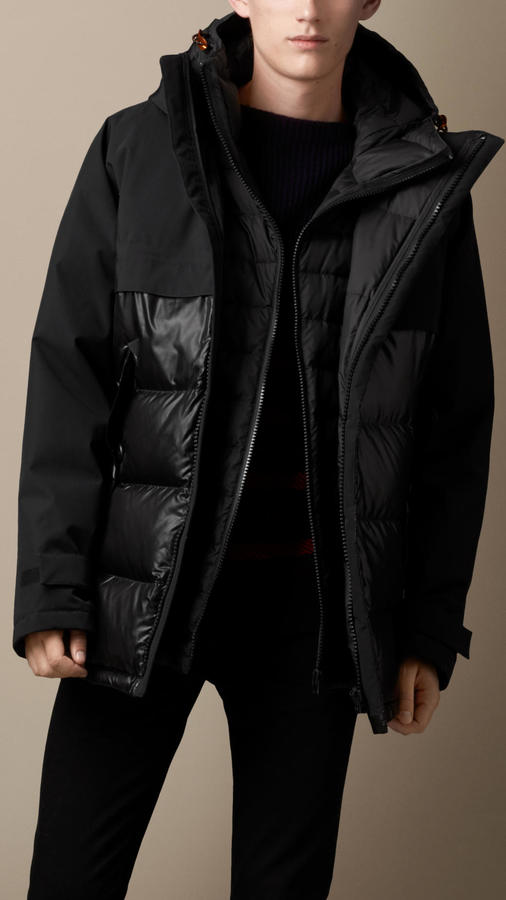 Burberry Brit Weatherproof Down Filled Parka | Where to buy & how ...