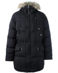 Burberry Zipped Parka Coat