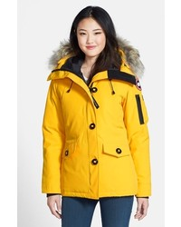 Canada Goose toronto online store - Canada Goose Montebello Slim Fit Down Parka With Genuine Coyote ...