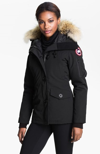 Canada Goose outlet - Canada Goose Montebello Slim Fit Down Parka With Genuine Coyote ...