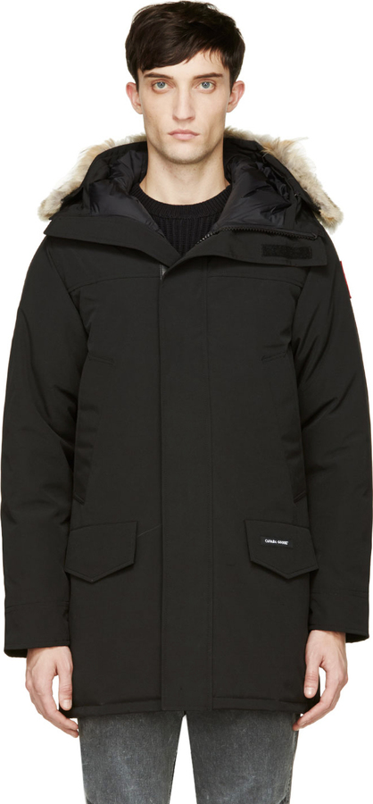 canada goose langford parka black men's