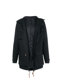 Z Zegna Cargo Pocket Hooded Coat