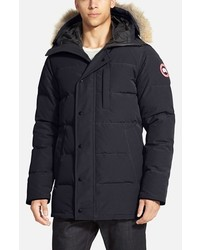 Canada Goose Carson Slim Fit Hooded Packable Parka With Genuine Coyote Fur Trim