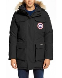 Canada Goose Citadel Slim Fit Parka With Genuine Coyote Fur