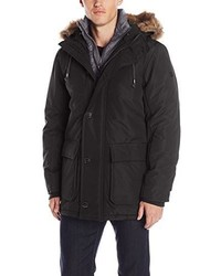 English Laundry Hooded Parka With Bib