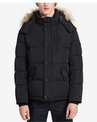 Calvin Klein Faux Fur Hooded Parka
