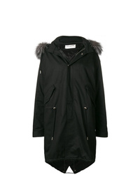 Saint Laurent Fox Med Parka