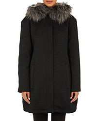 Cacharel Fur Trimmed Parka