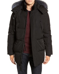 Andrew Marc Genuine Fox Down Parka
