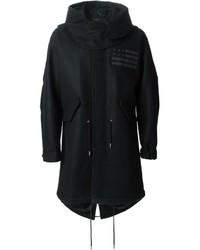 Givenchy Oversize Parka Coat